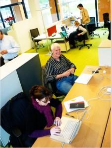 Freelancer und Selbständige können sich Arbeitsplätze stündlich mieten