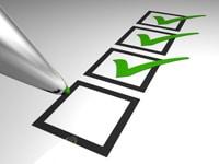 Checkliste für Abschluss einer Vermögensschadenhaftpflichtversicherung