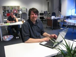 """Kreativ @work: Im Augsburger Coworking-Space """"max 30.1""""  von Uli Hab bündeln sich die Kompetenzen von Freelancern, Webworkern und Medienschaffenden"""
