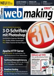 """Praxiswissen für Freelancer: Das neue Magazin """"webmaking"""" will mit seinen Themen webaffine und unternehmerisch denkende IT-Experten ansprechen."""