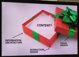 Nur Design und kein Inhalt? © Karen McGrane