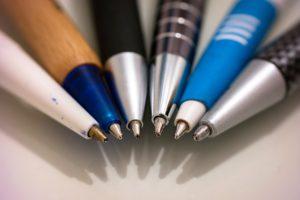 Der Stift als Give-away hält, was er verspricht