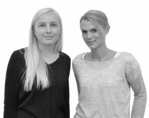 Lena Riedmann und Josefine Pabst