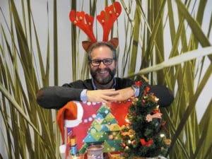 Frohe Weihnachten! Euer Ralph, the red nose reindeer! ;)
