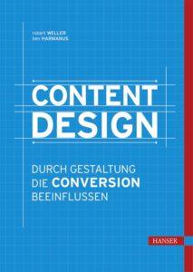 Buchcover Content Design Hanser Verlag