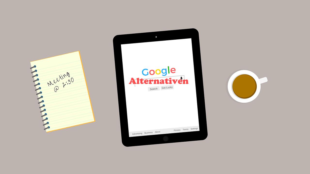Alternativen zu Google als Suchmaschine? Gibt es! Ausprobieren lohnt sich!
