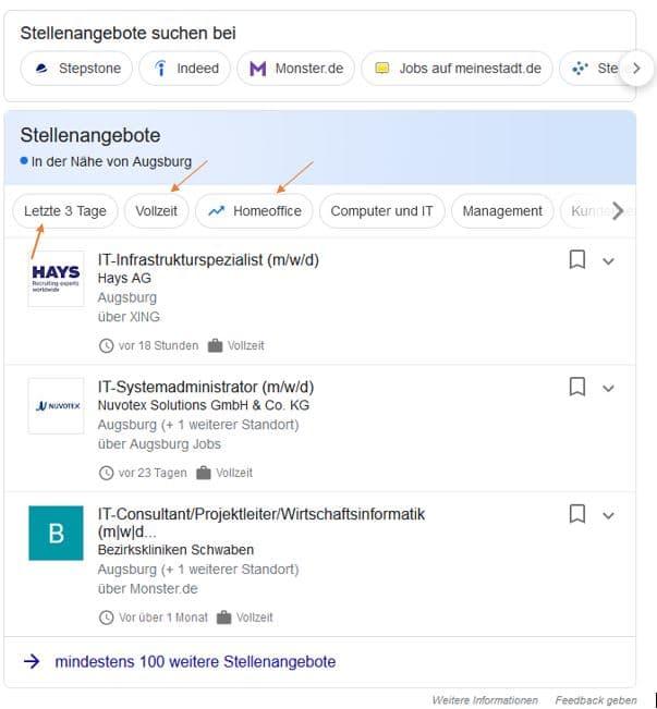 google for jobs grafik