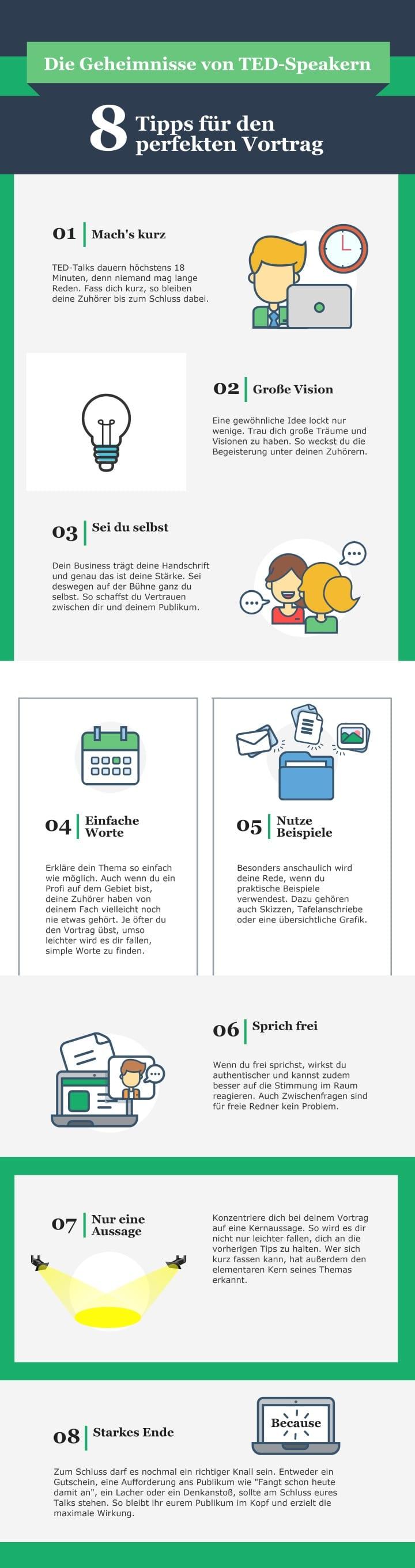 Mit diesen 8 Tipps gelingt euer Vortrag garantiert
