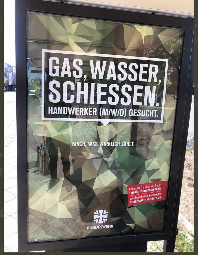 Bundeswehr Werbung Fail
