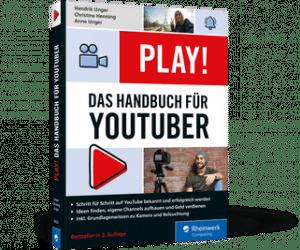 Buchcover Handbuch YouTuber