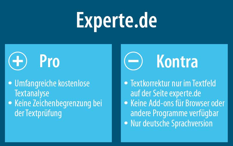 Mehr zu experte.de findest du hier: experte.de/textkorrektur